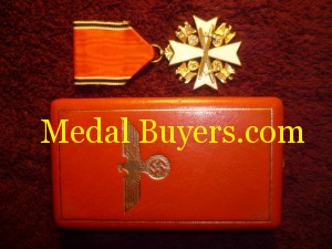 German eagle order 4th class cased valuation
