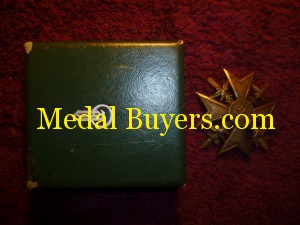 Spanish cross in gold cased price