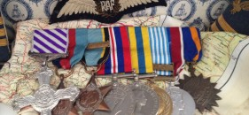Wing Commander Spragg, D-Day actions a group recently sold by us.