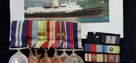 H.M. Yacht Britannia – Gallantry Medal Group