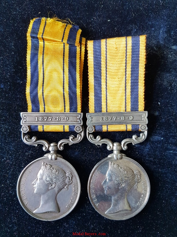Zulu War 1879 Isandlwana 24th Foot Casualty Medal