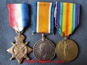 Great War Medal Trio