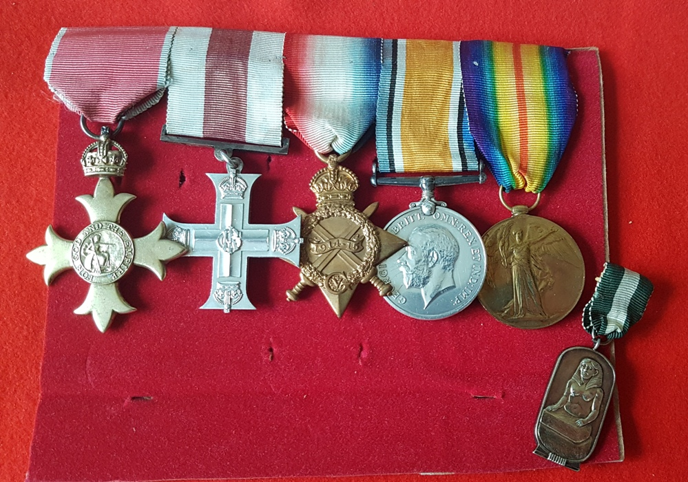 Military Cross medals