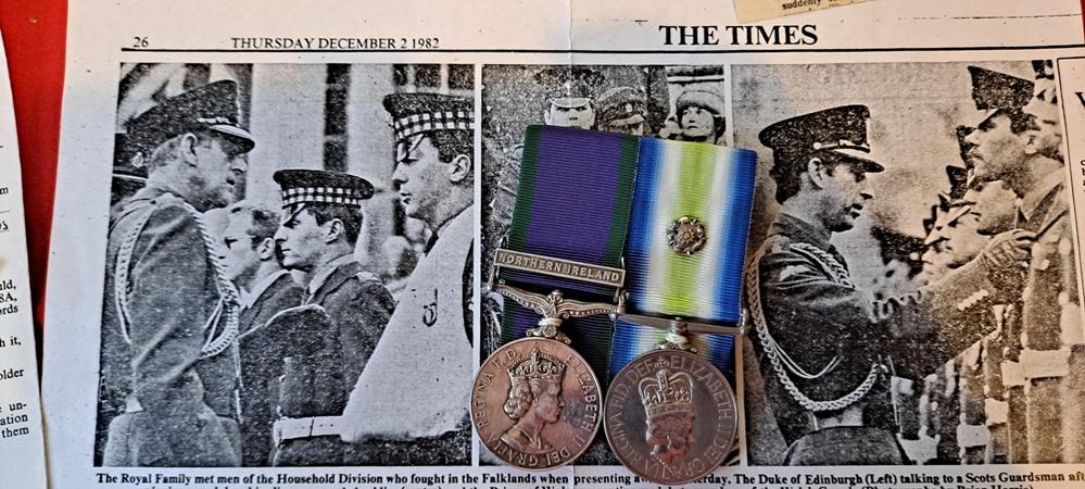 falklands war medals